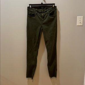 ‼️Final Sale‼️ Army Green Skinny Joe's Jeans
